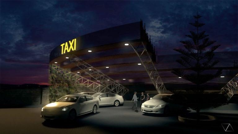 Parada de Taxi (nocturno)